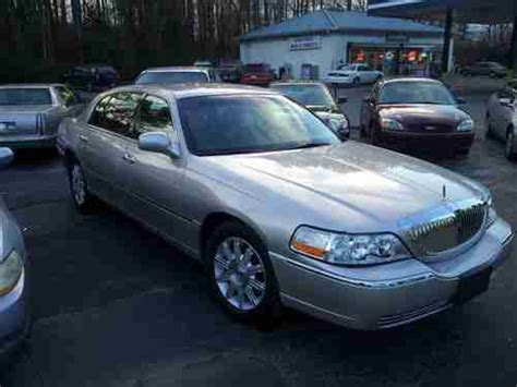 how cars run 2009 lincoln town car electronic toll collection purchase used 2009 lincoln town car signature l no reserve runs drives salvage flood mv 907a in