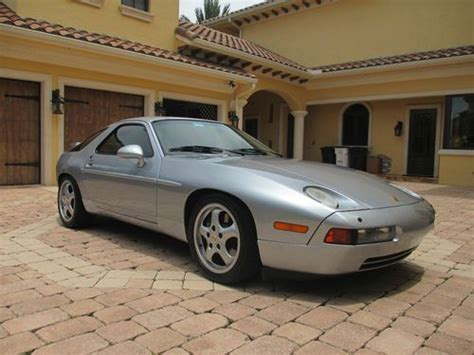 auto air conditioning repair 1994 porsche 928 transmission control purchase used 1994 porsche 928 gts pristine condition low miles no reserve in pompano beach