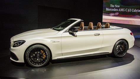 new york auto show mercedes amg c63 fast cabriolet convertible