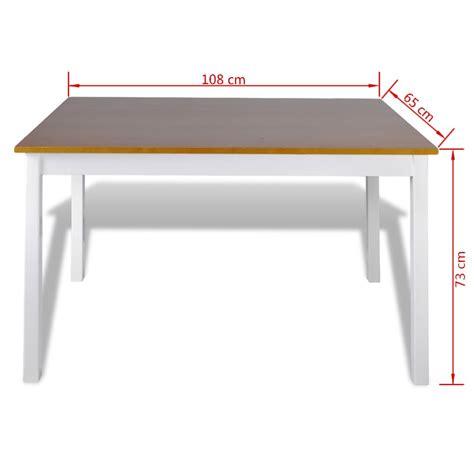 4 eettafel stoelen houten eettafel met 4 stoelen bruin online kopen vidaxl nl