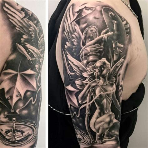 guardian angel tattoo sleeve designs 25 best tattoos images on designs