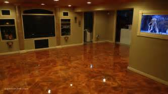 Best Finished Basements - stained concrete professionals colorado concrete repair