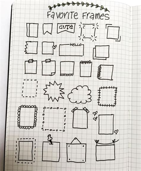 doodle notes draw best 25 doodle ideas ideas on bujo doodles