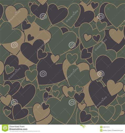 imagenes lindas de amor militar los militares camuflan amor ilustraci 243 n del vector