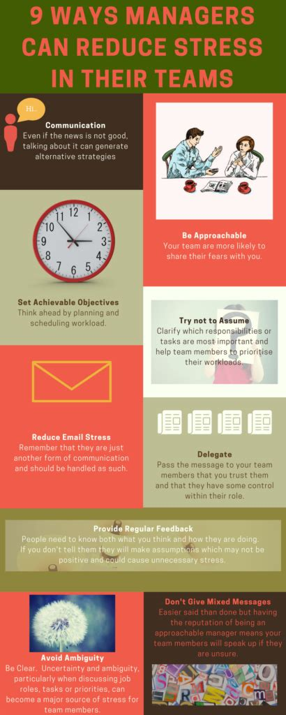 9 ways you can read reduce stress in teams