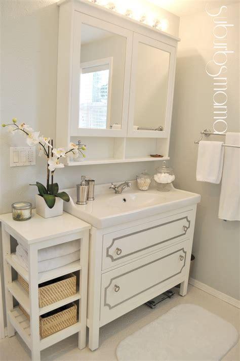 spiegelschrank diy ikea badezimmer gestalten wohntipps new swedish
