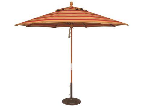 Treasure Garden Patio Umbrella Treasure Garden Market Wood 9 Octagon Pully Lift Umbrella Um8091