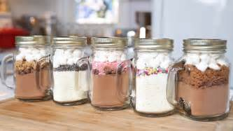 Jar Gifts Recipes - 5 chocolate in a jar recipes edible gifts