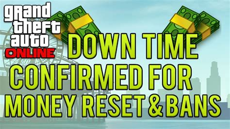 reset gta online stats gta online down time confirmed to reset modded money