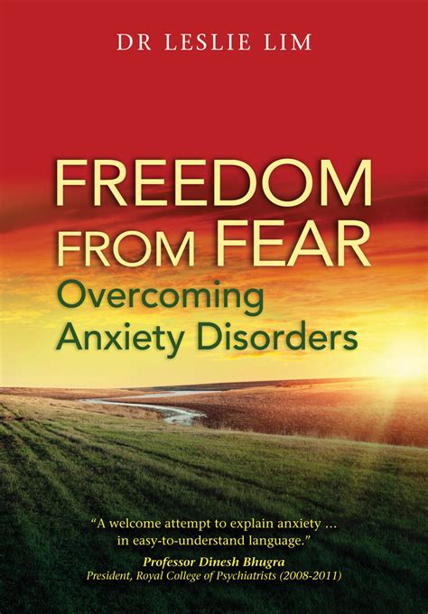 anxiety fighting for mental freedom books freedom from fear overcoming anxiety disorders e book
