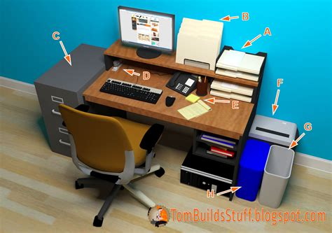 Organize Computer Desk Office Organization What You Need To