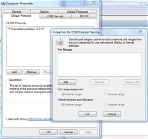 port range msdtc through a firewall to an sql cluster with rpc