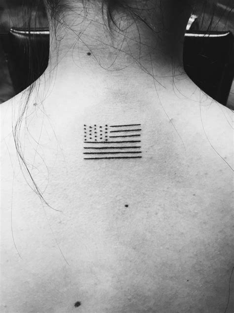 black and white flag tattoo best 25 american flag tattoos ideas on