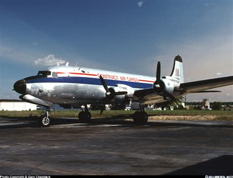 douglas c 54m skymaster dc 4 contract air cargo aviation photo 0687370 airliners net