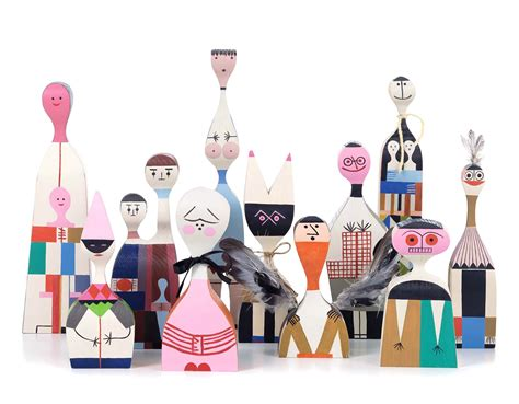 Wooden Dolls by Wooden Dolls By Girard Hivemodern