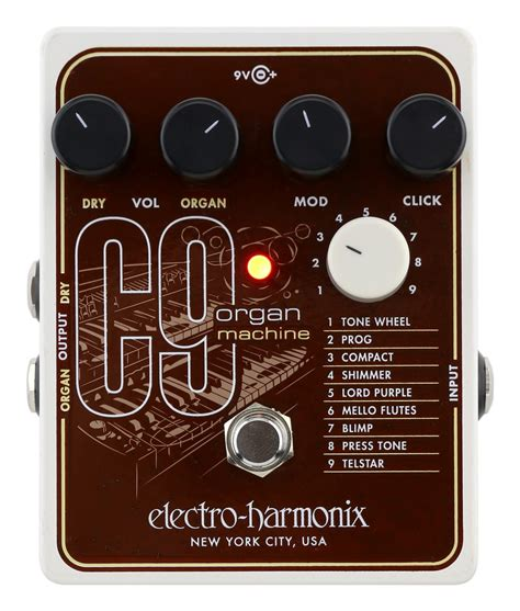 Electro Harmonix C9 Organ Machine electro harmonix c9 organ machine rainbow guitars