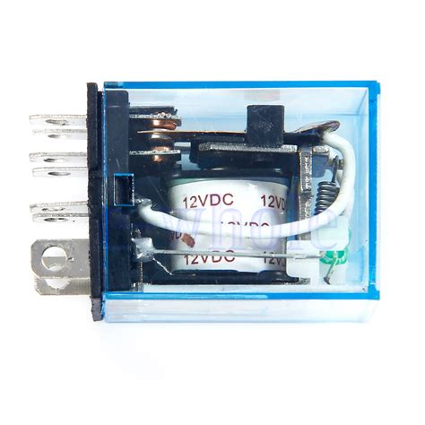Relay 12v 10a Omron relay omron ly2nj small relay 10a 8pin coil dpdt 12v dc tw ebay