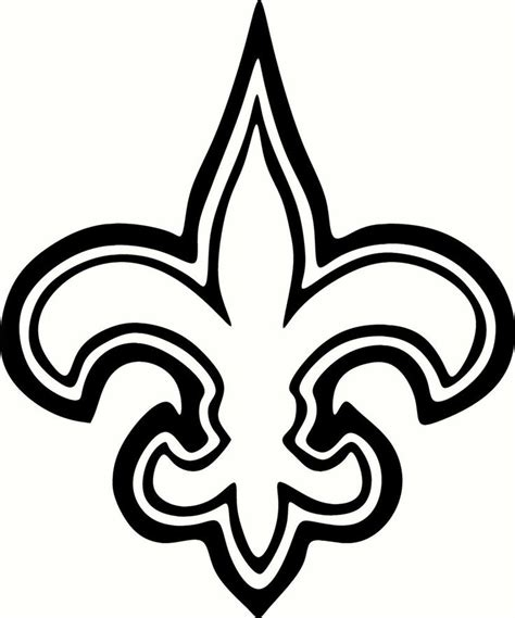 nfl saints coloring pages 23 best saints images on pinterest new orleans saints