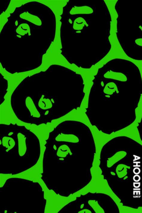 Iphone 4 4s Vans The Wall Army Bape Casing Hardcase bape iphone wallpaper hd