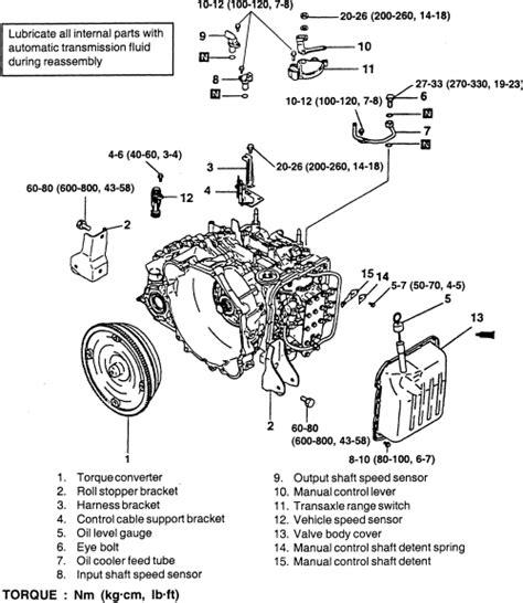car engine manuals 2003 kia optima transmission control repair guides automatic transaxle transaxle removal installation autozone com