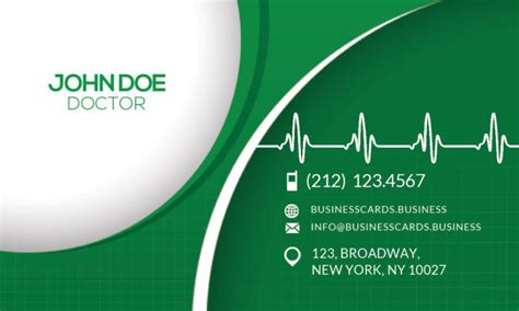 doctor visiting card design templates free business card psd template business cards