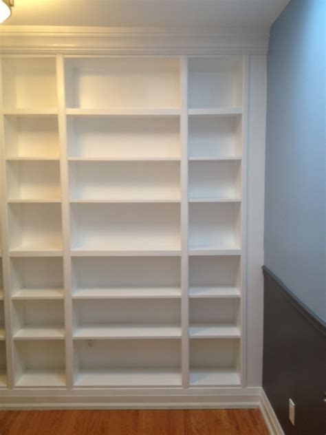 Ikea Billy Bookcase Built In Look From Billy To Built Ins Storefront Life