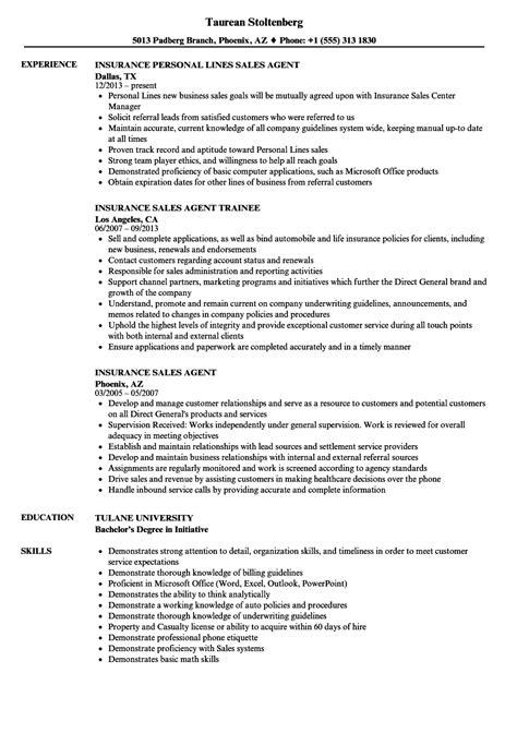 Insurance Trainee Sle Resume by Insurance Sales Sle Resume Tax Resume Sle Sat Writing Essay Exles