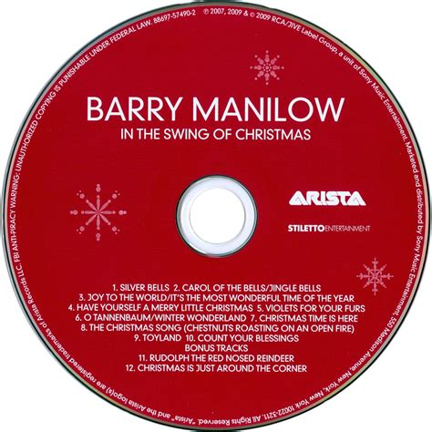 in the swing of christmas car 225 tula cd de barry manilow in the swing of christmas