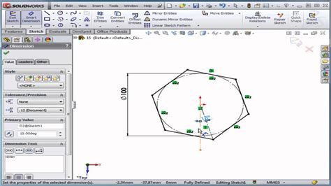 solidworks tutorial lessons solidworks tutorial lesson 15 polygon youtube