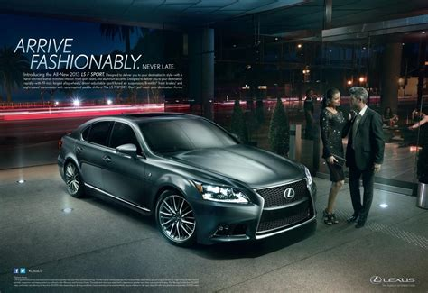 lexus ads lexus pursues hipper crowd with new ads for its ls sedan