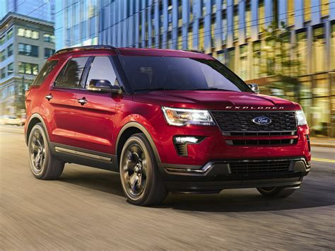 new ford explorer 2018 new 2018 ford explorer price photos reviews safety