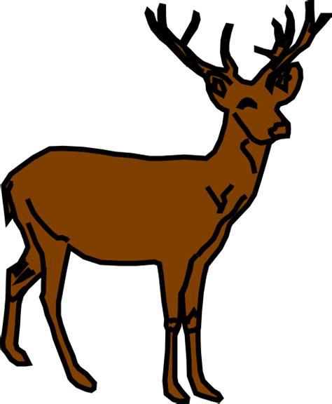 clip deer deer clip at clker vector clip