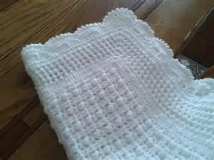 patron tricot couverture bebe crochet