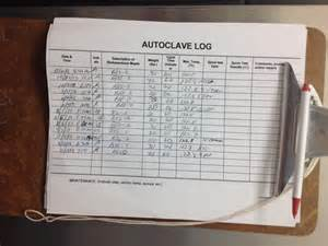 Autoclave Log Template by Autoclave Biohazardous Waste