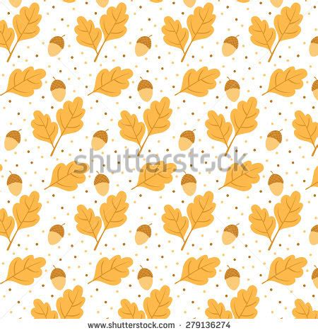 cute fox on leaf and acorn pattern mousepads zazzle acorn like stock photos royalty free images vectors