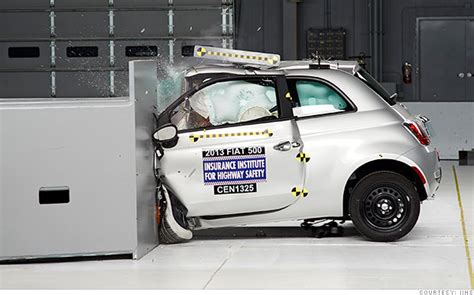 car crash test small cars struggle with crash tests car news