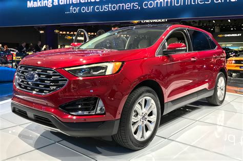 2019 Ford Production Schedule by New Ford Edge Updated Suv Arrives At Geneva 2018 Car