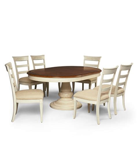 Macys Dining Room Furniture Coventry Dining Room Furniture 7 Set Table And 6 Side Chairs Furniture Macy S