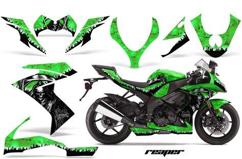Kawasaki Zx10r Aufkleber Set by 2008 2009 2010 Kawasaki Zx10 Bike Graphic