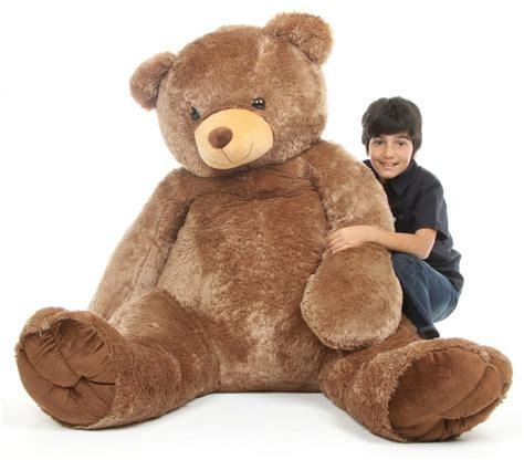 Teddy Jumbo Sweetie Tubs 65 Quot Mocha Brown Size Teddy