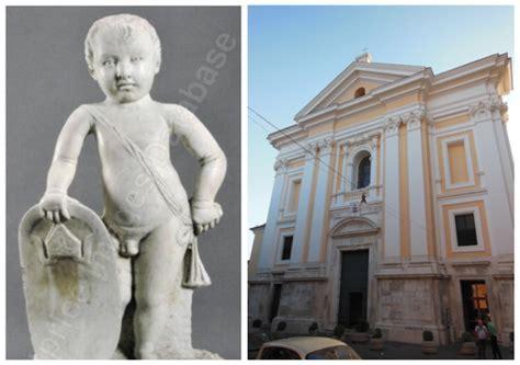 Banca Della Cania Aversa by Ritrovata Statua 400 Rubata 32 Anni Fa Dal Duomo Di