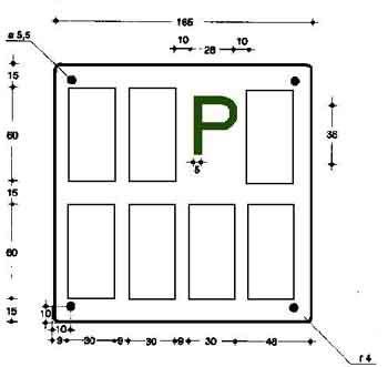 box auto dimensioni minime targa prova cosa 232 e come funziona