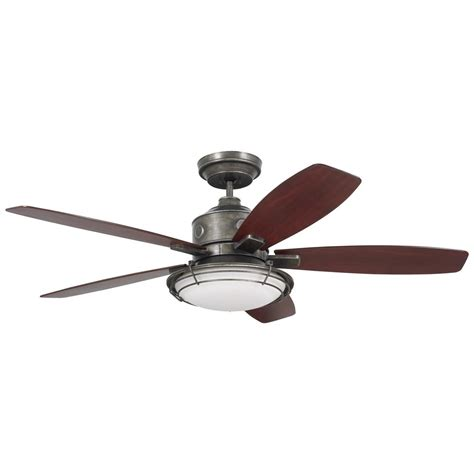 home depot emerson ceiling fans emerson rockpointe 54 in indoor outdoor vintage steel