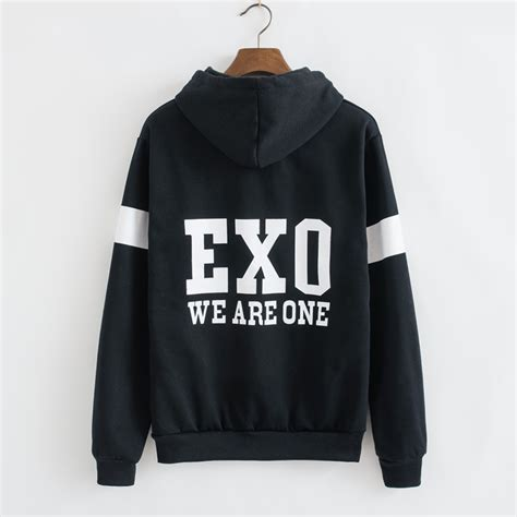 Luhan Exo Sweater By Dn2group exo hooded cardigan sweater coat 183 kawaii