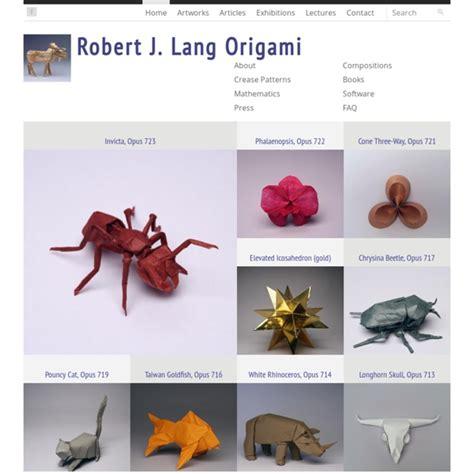 robert j lang origami pearltrees