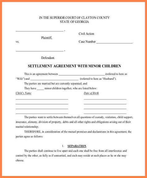 Debt Agreement Sle by Payment Settlement Agreement Template 28 Images Sle Payment Agreement Form 9 Free Documents
