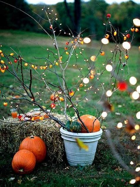 fall outside decorations autumn wedding fall outdoor decorating 2138425 weddbook