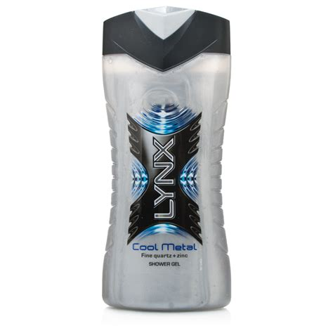 Lynx Shower Gel For by Lynx Cool Metal Shower Gel For Chemist Direct