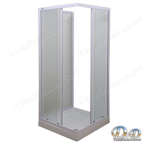 box doccia 70x100 3 lati box doccia a tre 3 lati 70x100 in cristallo e profili
