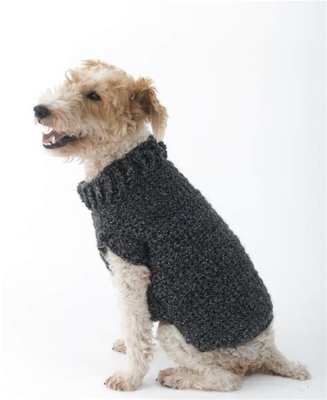 Pattern for crochet dog sweater crochet and knit
